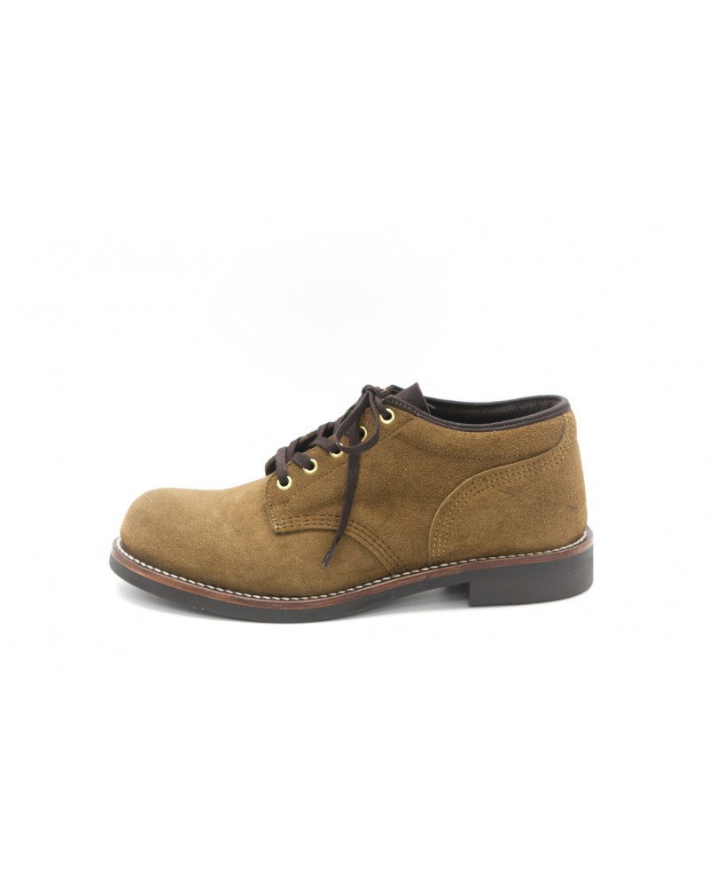 Brother Bridge x Wst End By Hoax|Ankle Boots・Beige Suede