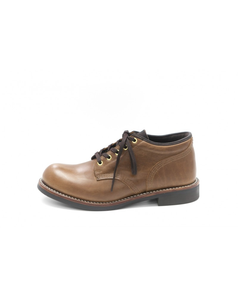 Brother Bridge MTO for Wst End By Hoax Ankle Boots - Coffee