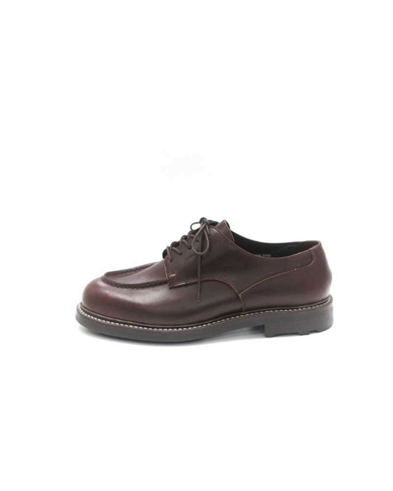 Brother Bridge MTO for Wst End By Hoax Apron Shoes - Dark Brown