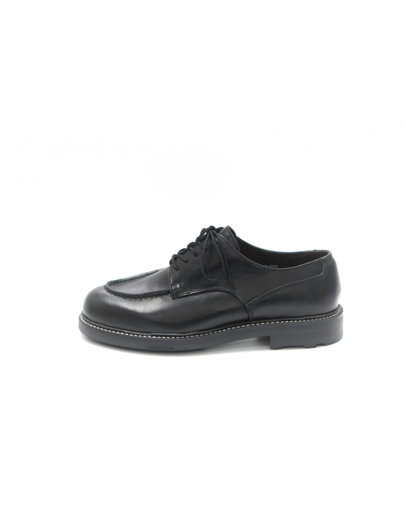Brother Bridge MTO for Wst End By Hoax Apron Shoes - Black