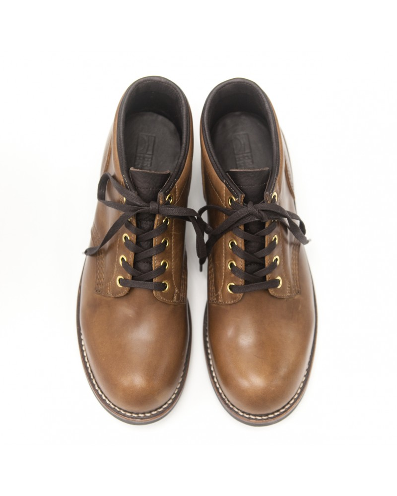 Brother Bridge x Wst End By Hoax|Ankle Boots・Coffee