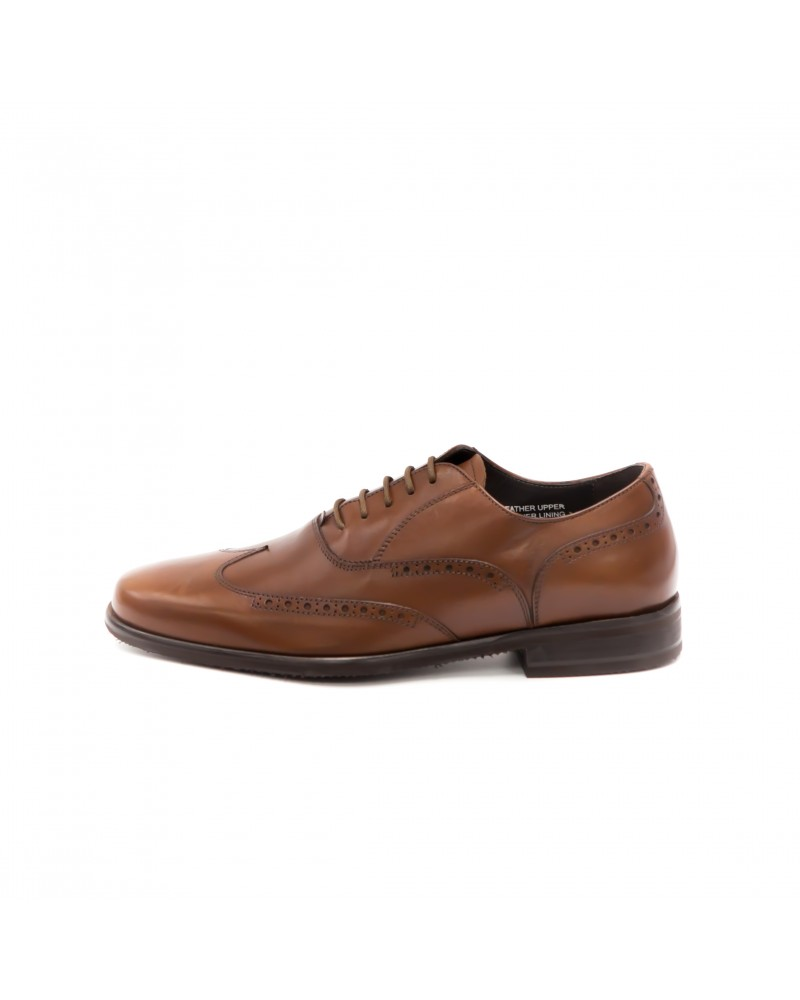 Calzoleria Toscana Wing Toe Oxford · Brown
