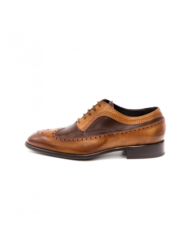 Calzoleria Toscana Two Tone Wingtip Oxford
