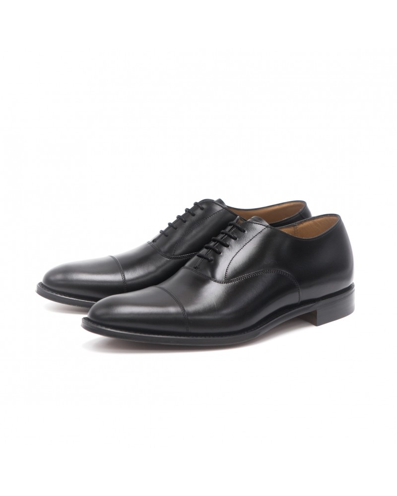 Joseph Cheaney & Sons Cap Toe Oxford - Black