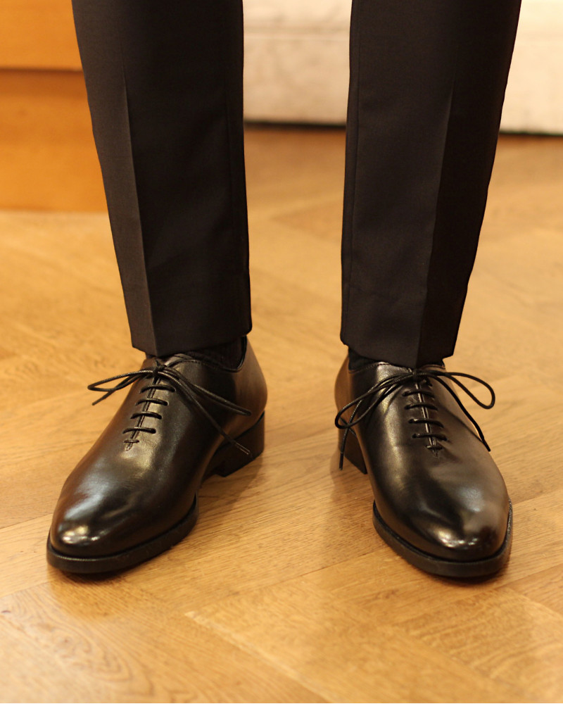 Elastico|H36 Whole Cut Oxford・Black