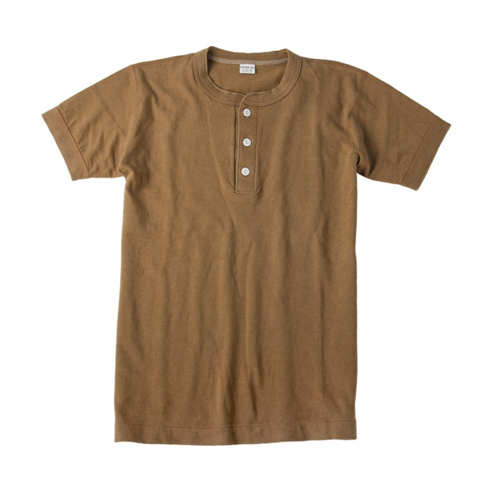 Entry SG Henley-Neck Tee - Biscuts