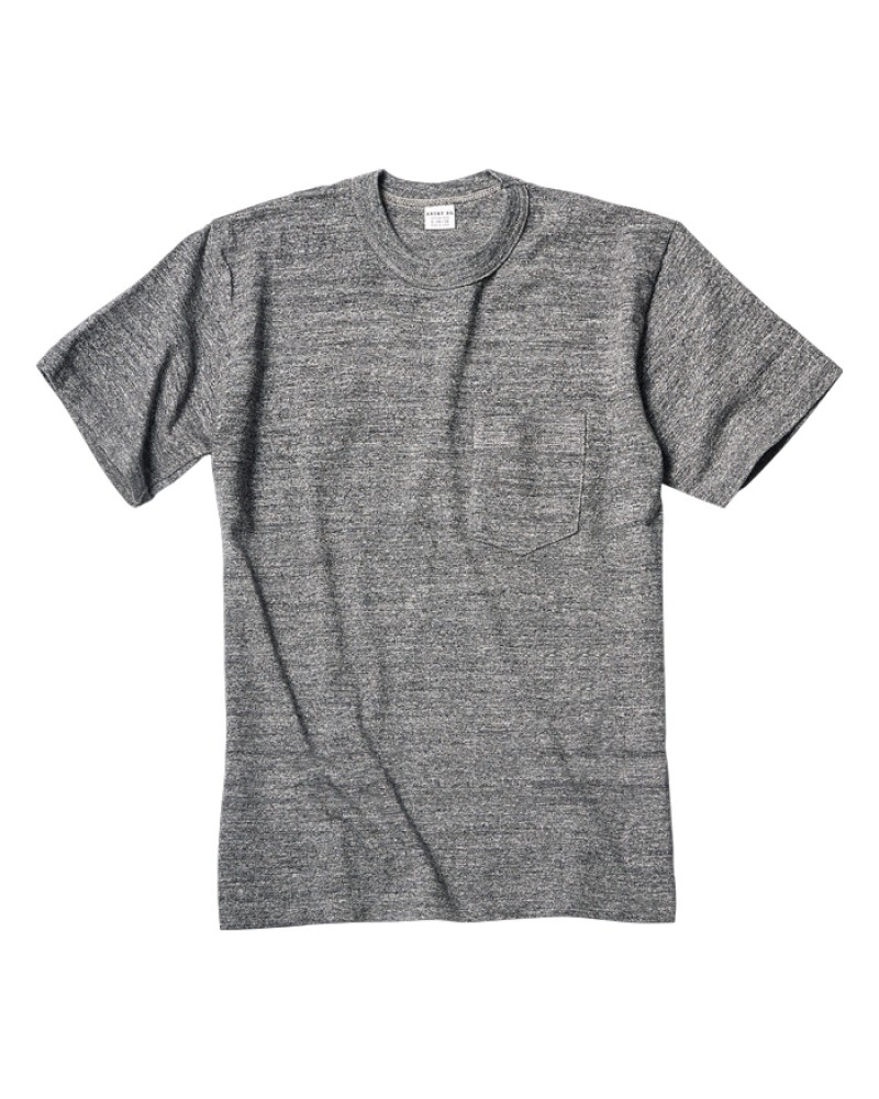 ENTRY SG|Pocket Tee・Graphite