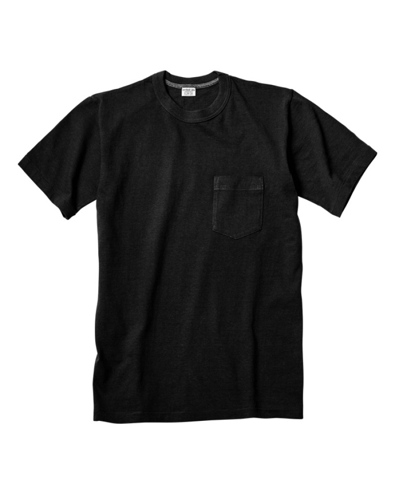 ENTRY SG|Pocket Tee・Black