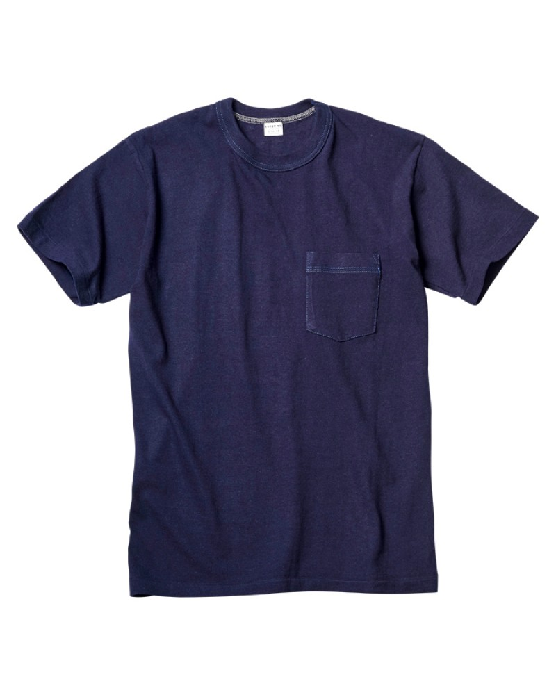 ENTRY SG Pocket Tee - Navy