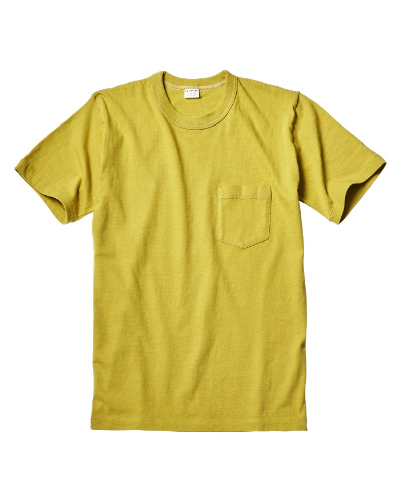 ENTRY SG Pocket Tee - Yellow