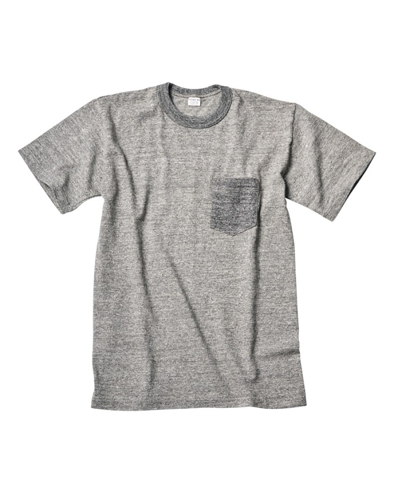 ENTRY SG Pocket Tee - Charcoal