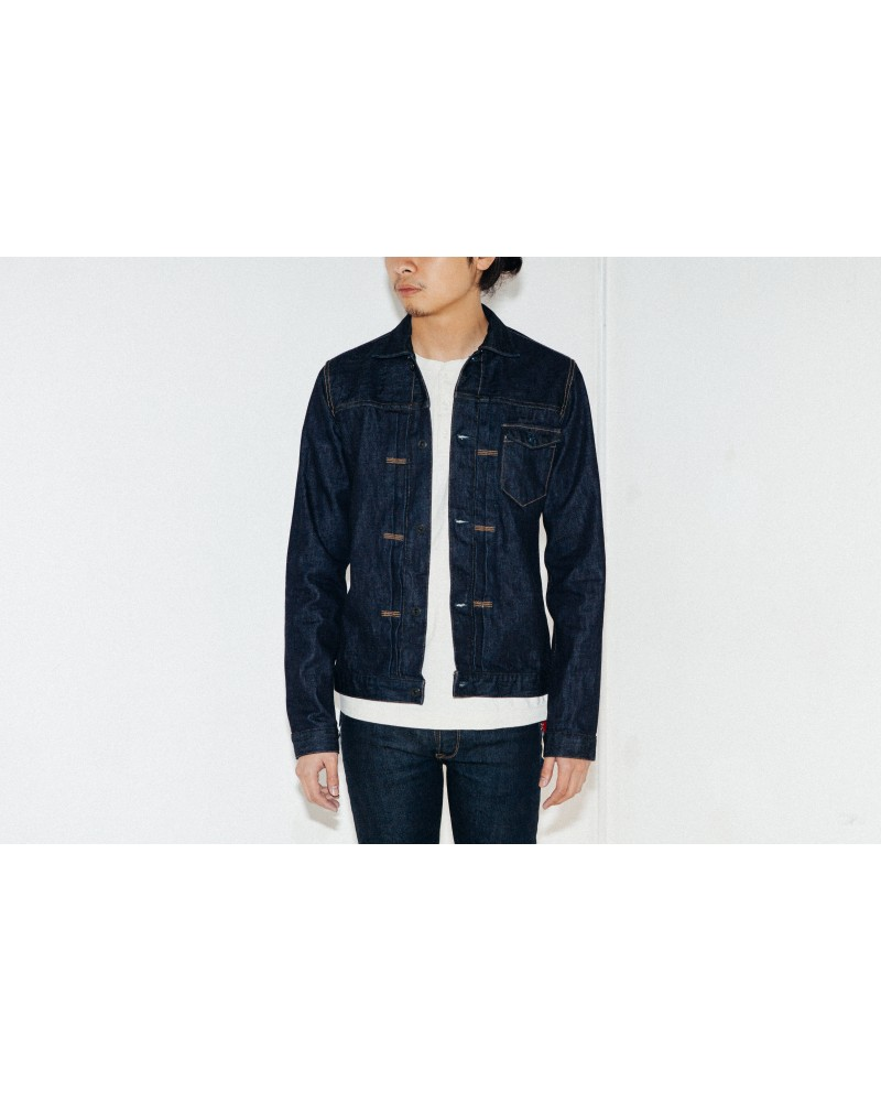 Crow Denim Jacket One Wash