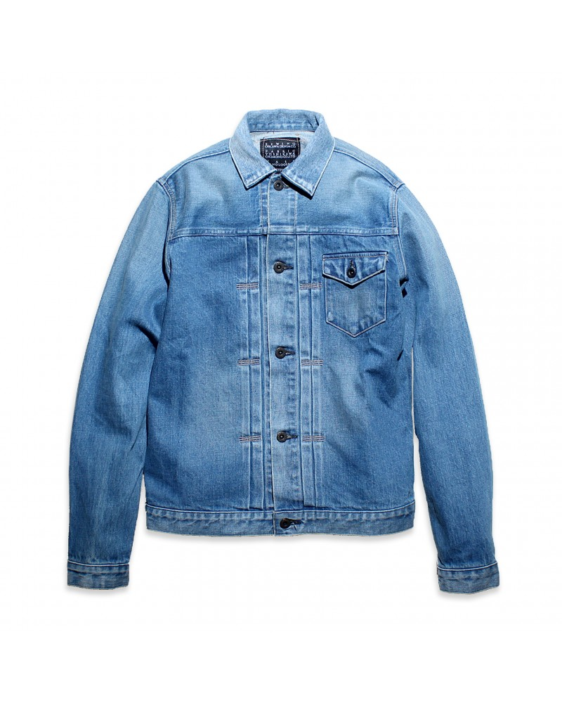Crow Denim Jacket Vintage Wash 02