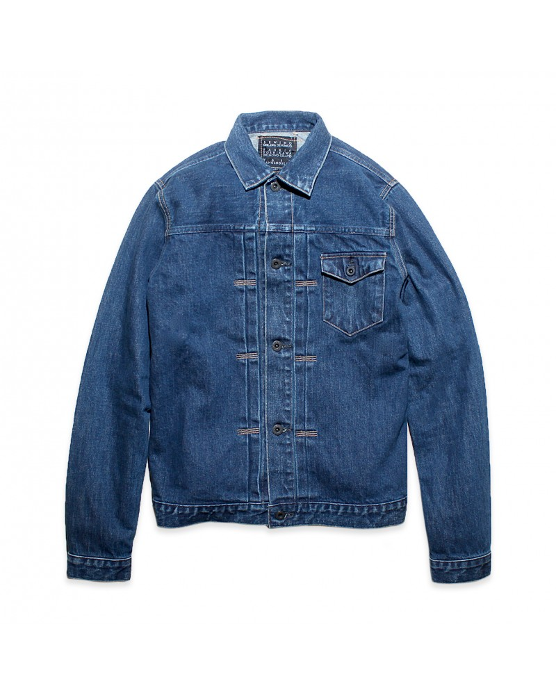 Crow Denim Jacket Vintage Wash 01