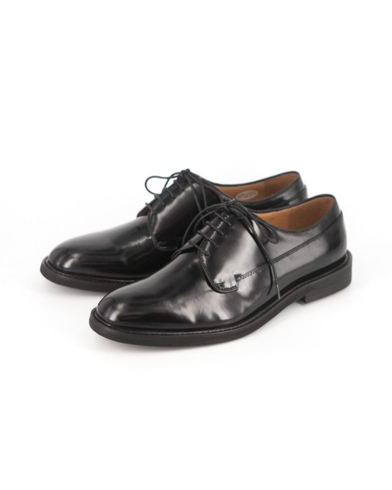 RAD By RAUDI Plain Toe Derby Shoes - Black