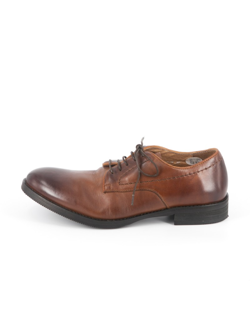 RAD by RAUDi Washed Derby Shoes - Brown