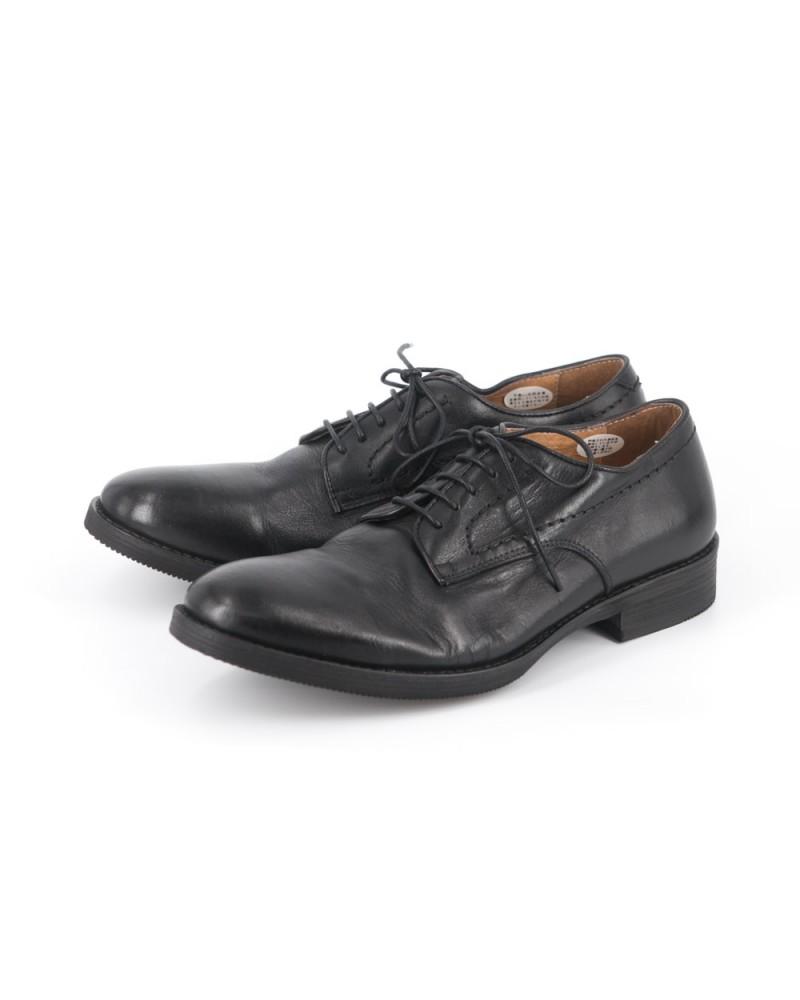 RAD by RAUDi Washed Derby Shoes  -Black