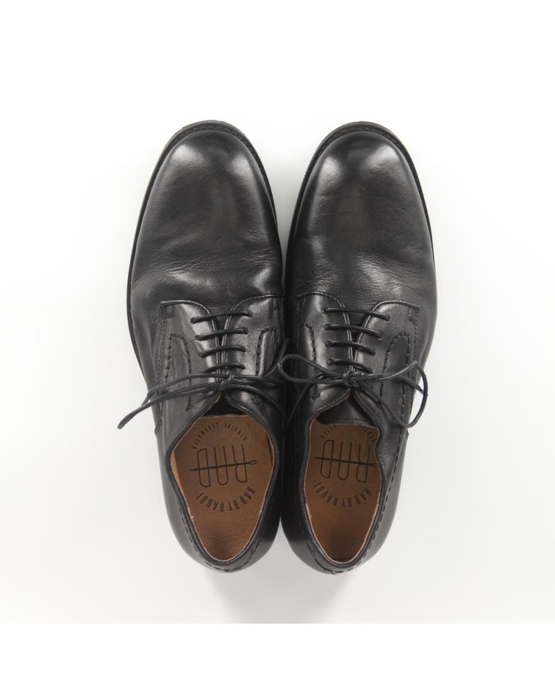 RAD by RAUDi Washed Derby Shoes - Black