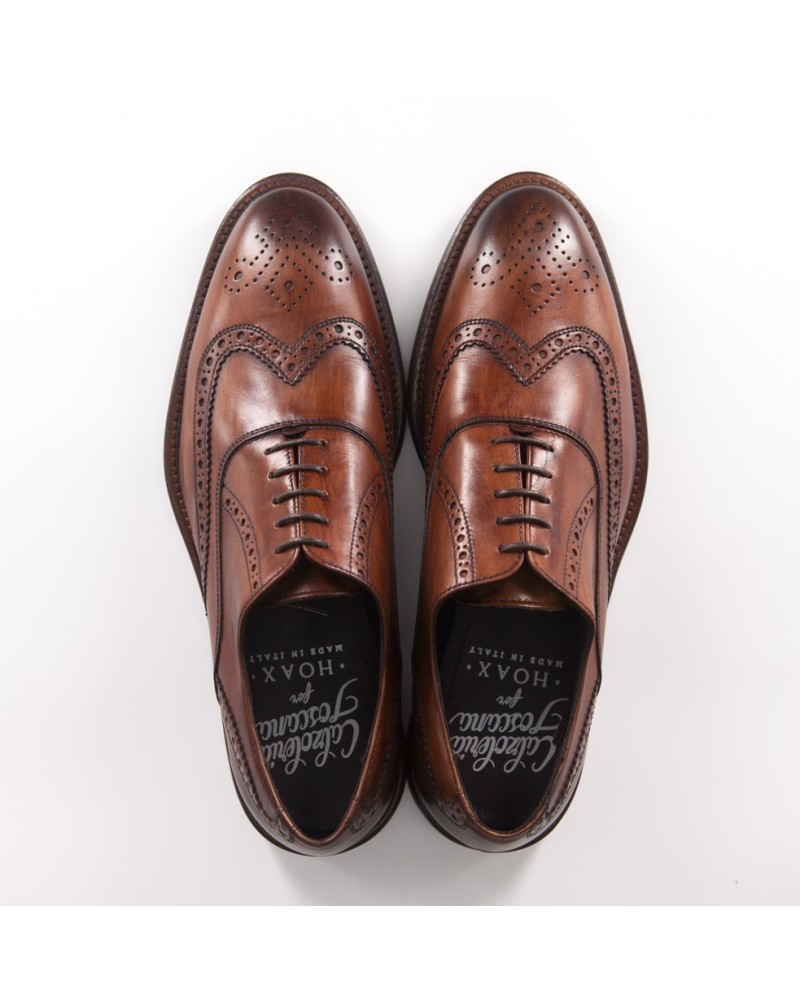 Calzoleria Toscana Wingtip Oxford - Wood