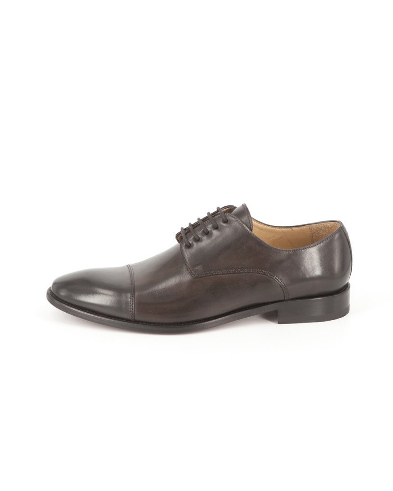 HOAX Made in Italy Captoe Derby - Dark Brown