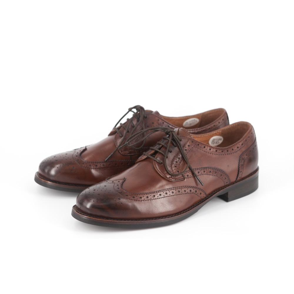 RAD by RAUDi Wingtip Derby Shoes - Brown