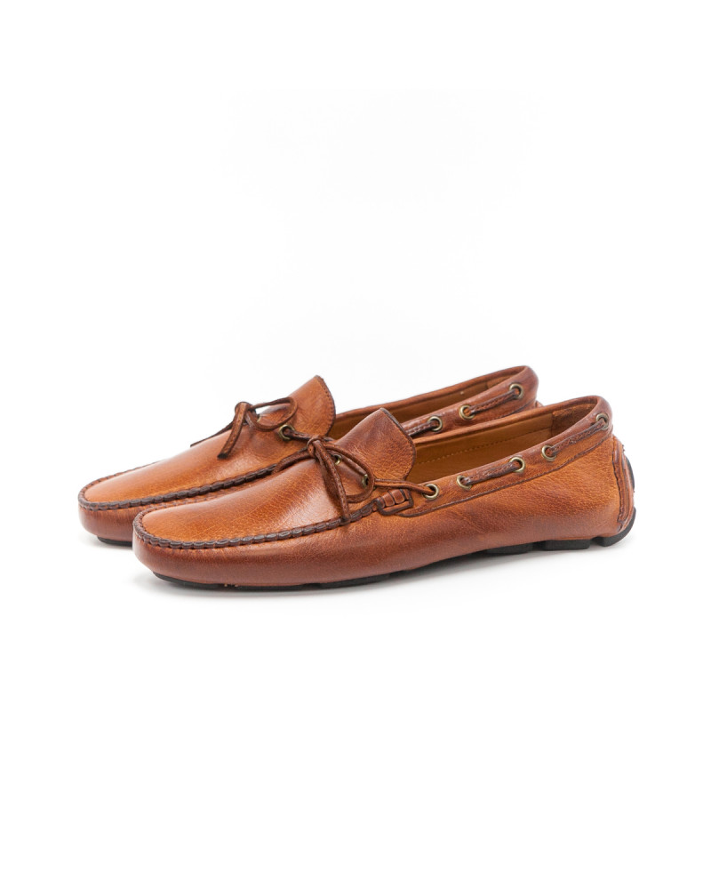 Calzoleria Toscana Dip Dyed Driving Shoes - Coker