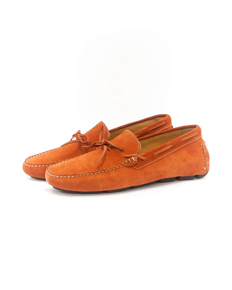 Calzoleria Toscana|3244 Suede Driving Shoes・Cooked