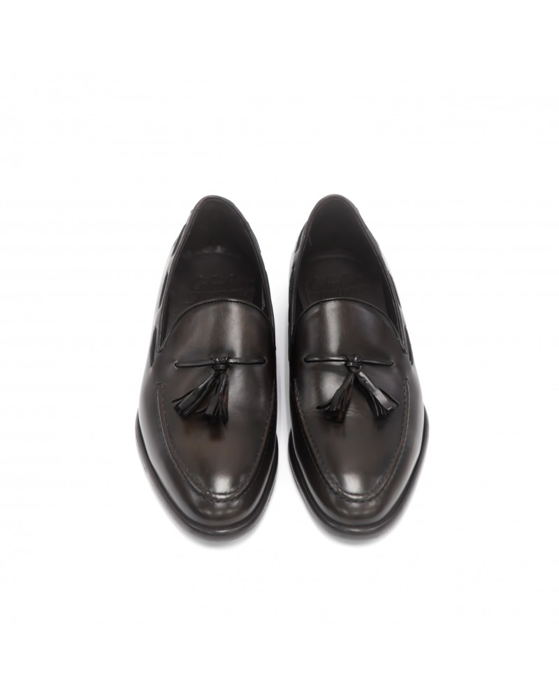 Calzoleria Toscana Tassel Loafer · Dark Brown