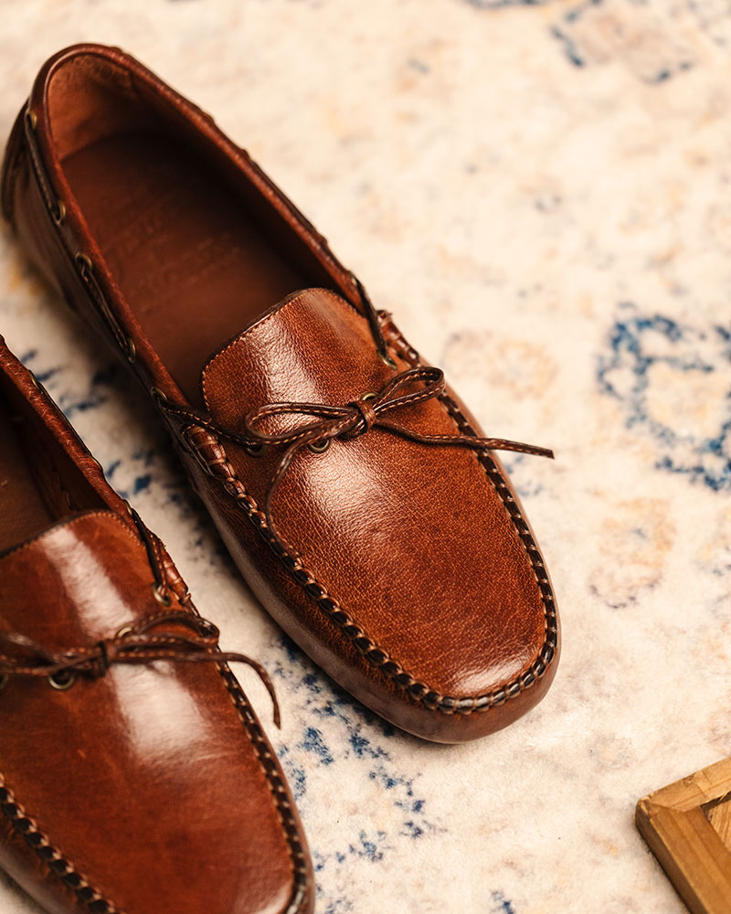 Calzoleria Toscana|4535 Dip Dyed Driving Shoes・Coker