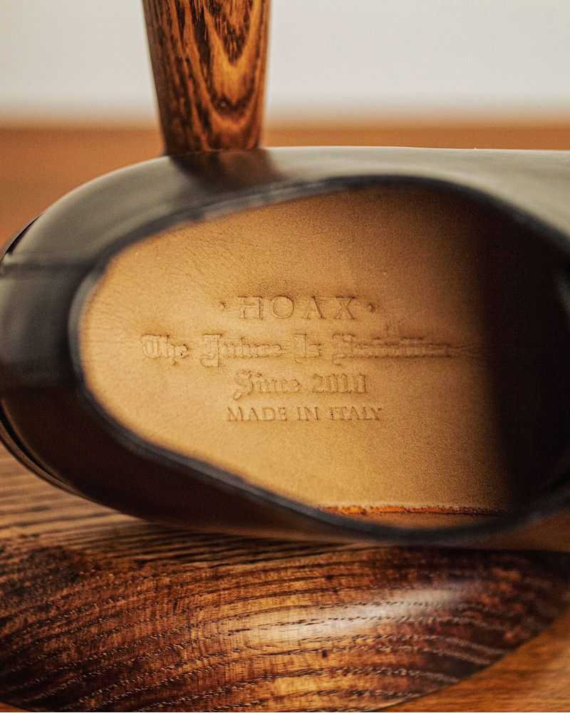 HOAX Made In Italy|105 Whole Cut Oxford・Brandy