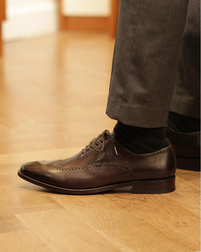 HOAX Made in Italy | 5538 Beaufort・Dark Brown
