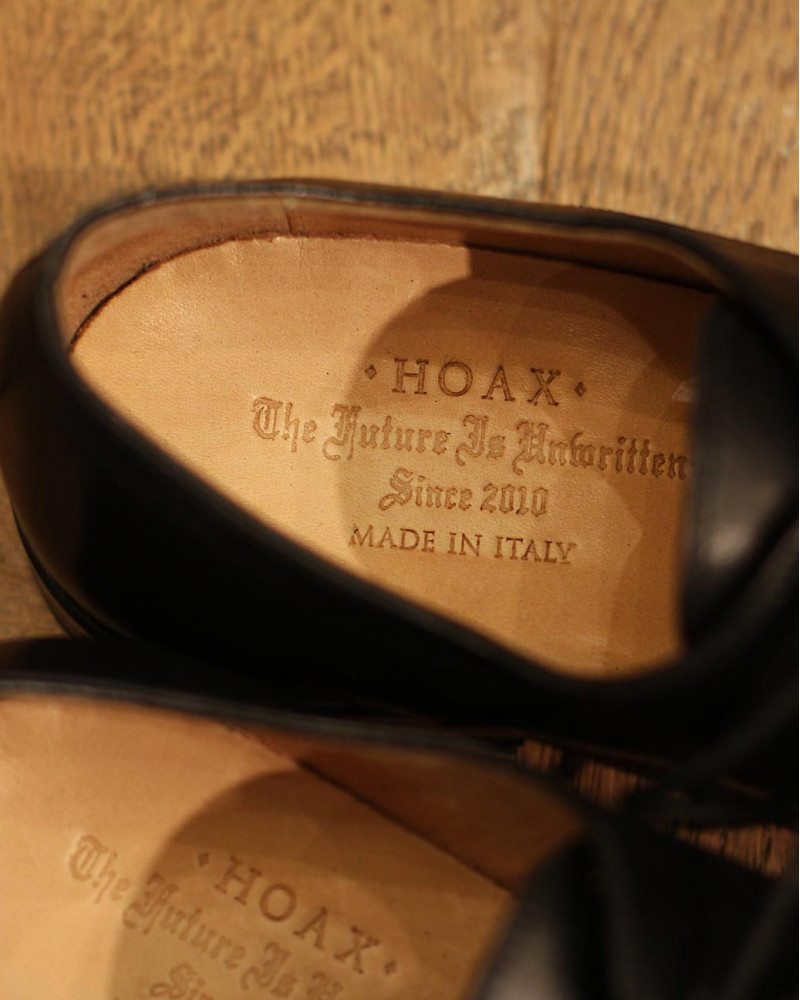HOAX Made in Italy | 5539 Captoe Derby・Black