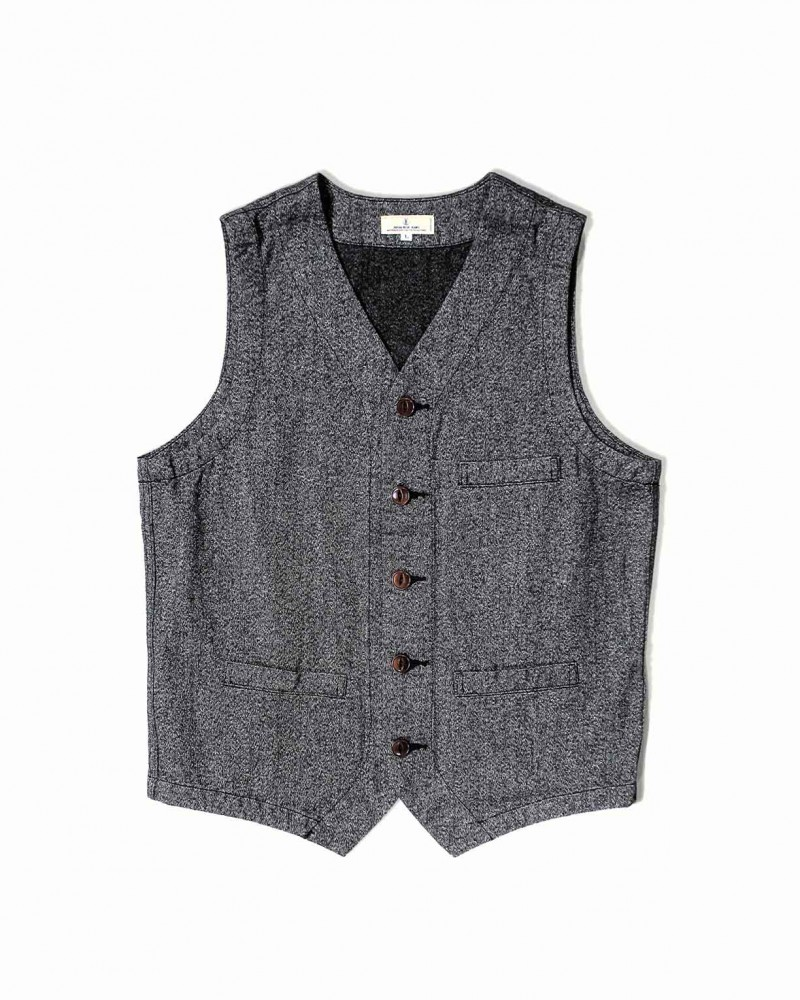Japan Blue Jeans Covert Twill Vest