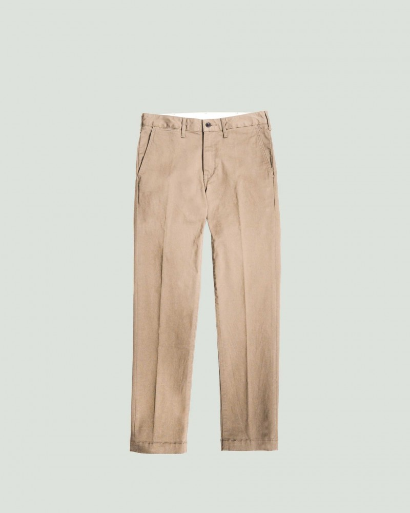 Japan Blue Jeans | Comb French Work Chino.Beige