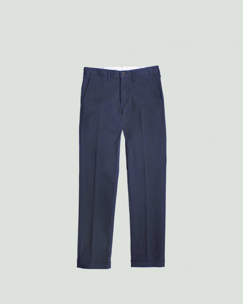 Japan Blue Jeans|Comb French Work Chino.Navy