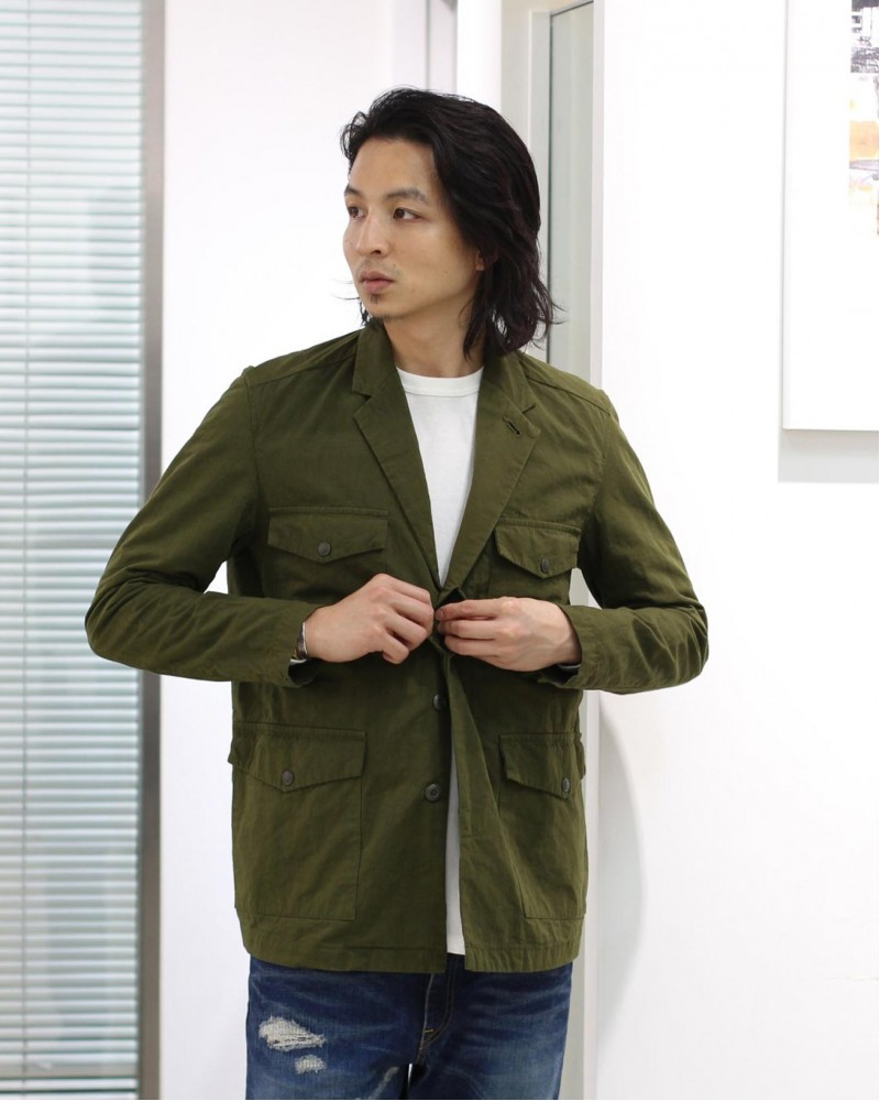 Japan Blue Jeans|Metro Field Jacket・Olive