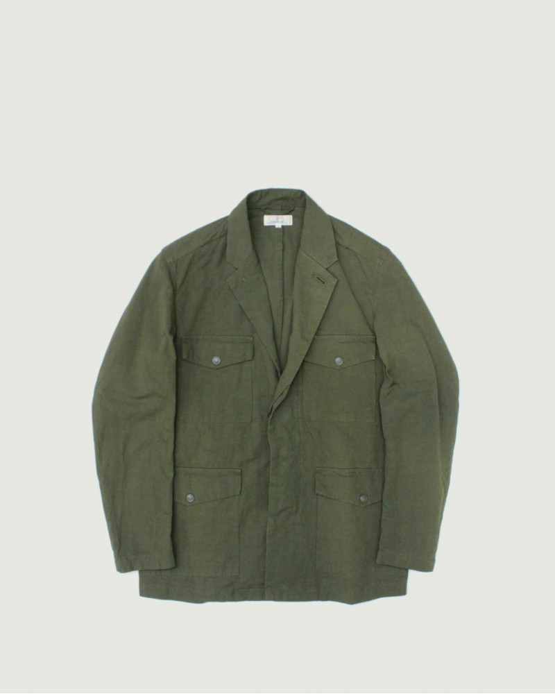 Japan Blue Jeans Metro Field Jacket・Olive