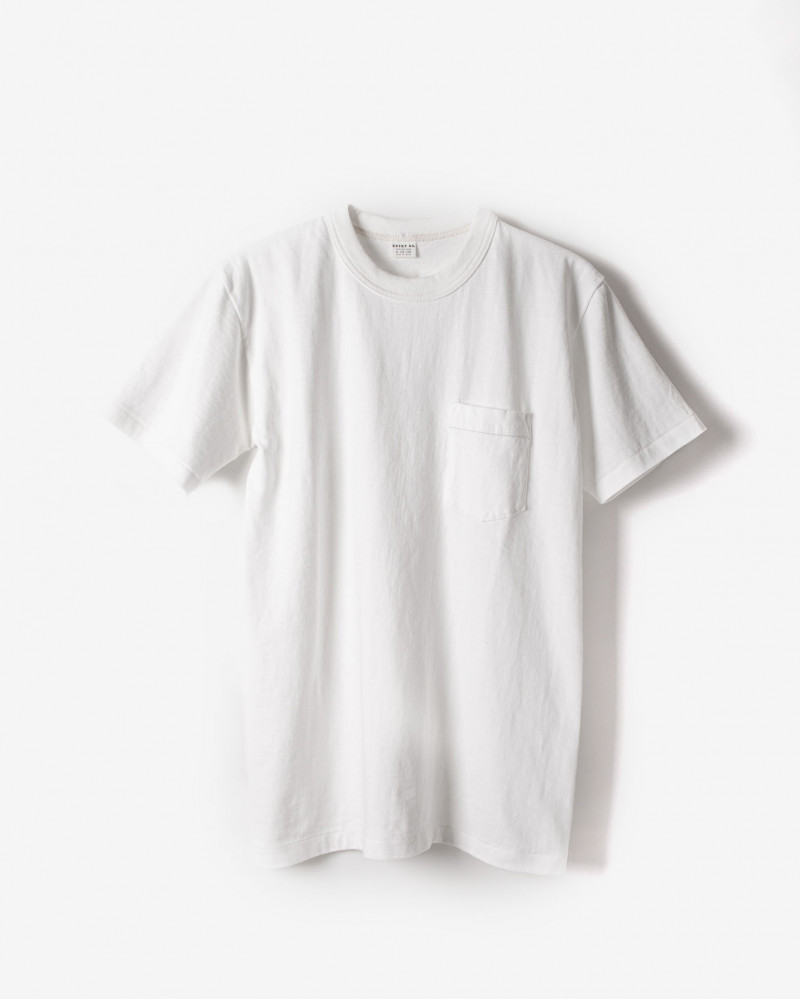 ENTRY SG|Tijuana Pocket Tee・Pure White