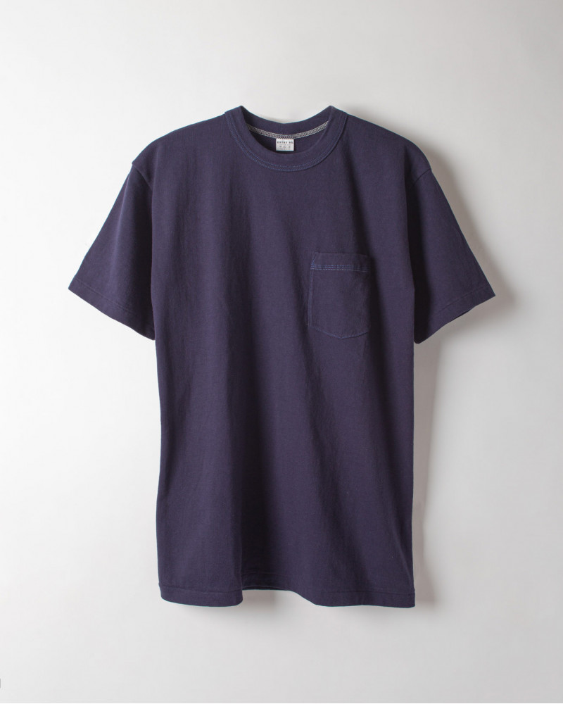 ENTRY SG|Tijuana Pocket Tee・Night Blue