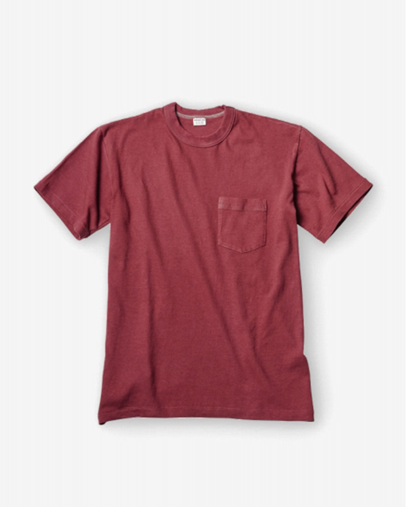 ENTRY SG|Tijuana Pocket Tee・Burgundy