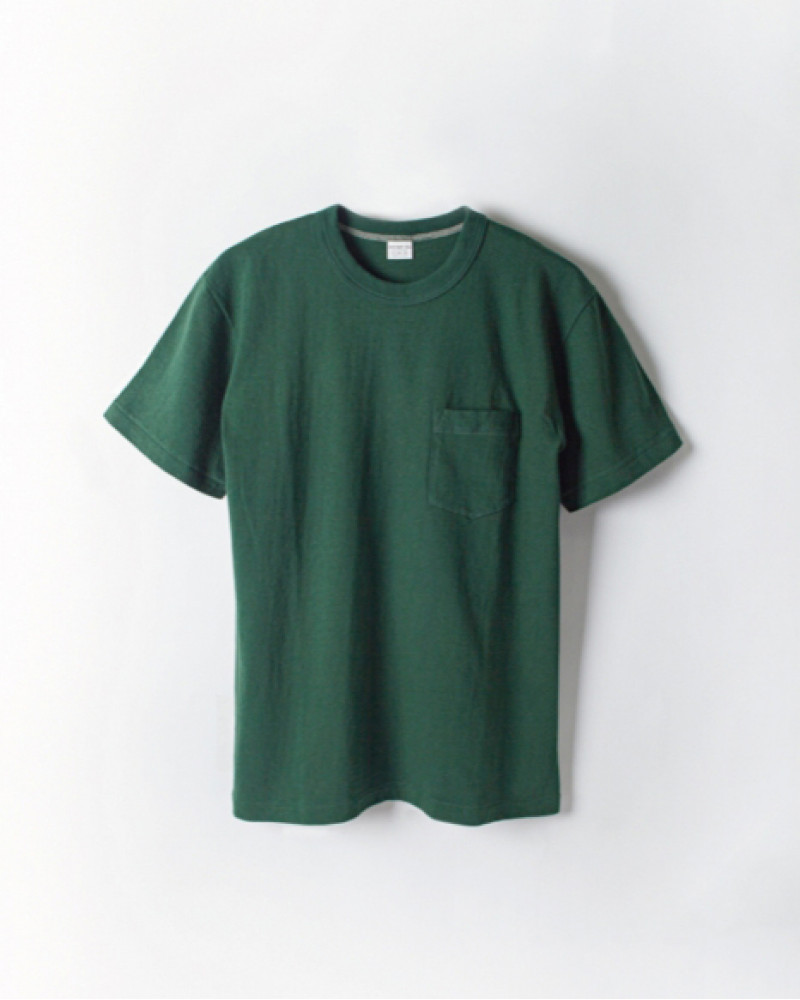 ENTRY SG|Tijuana Pocket Tee・Bottle Green