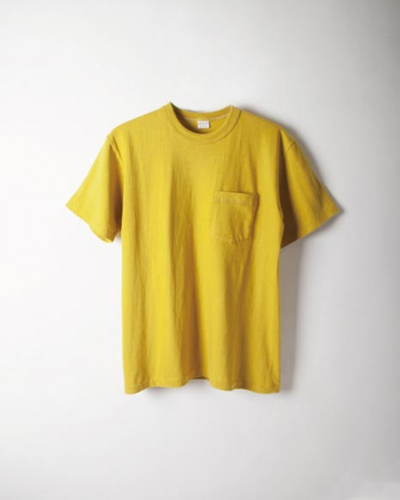 ENTRY SG|Tijuana Pocket Tee・Mustard