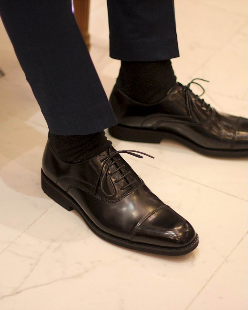 KENFORD KN18 Oxfords・Black