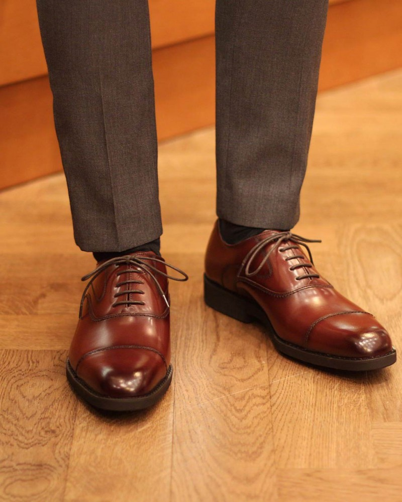 KENFORD KN18 Oxfords・Brown