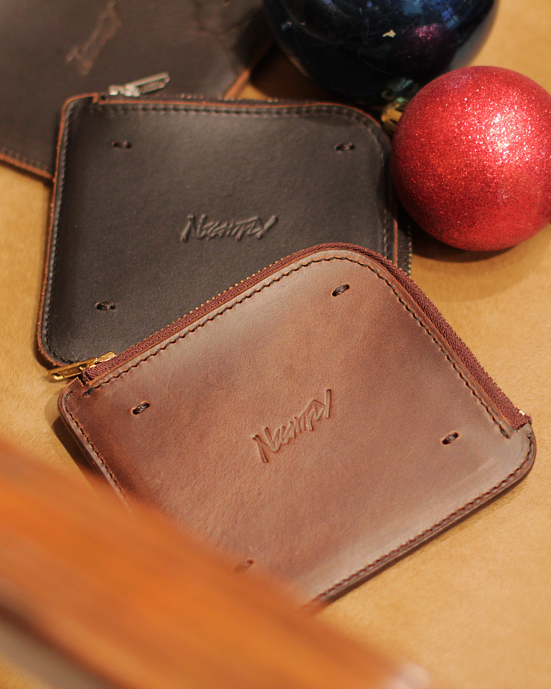 NightFly|Horween Chromexcel Zip Wallet
