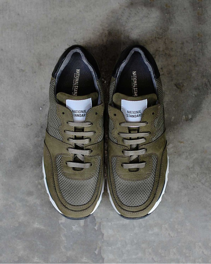 National Standard Sneaker・Edition 7・Olive suede