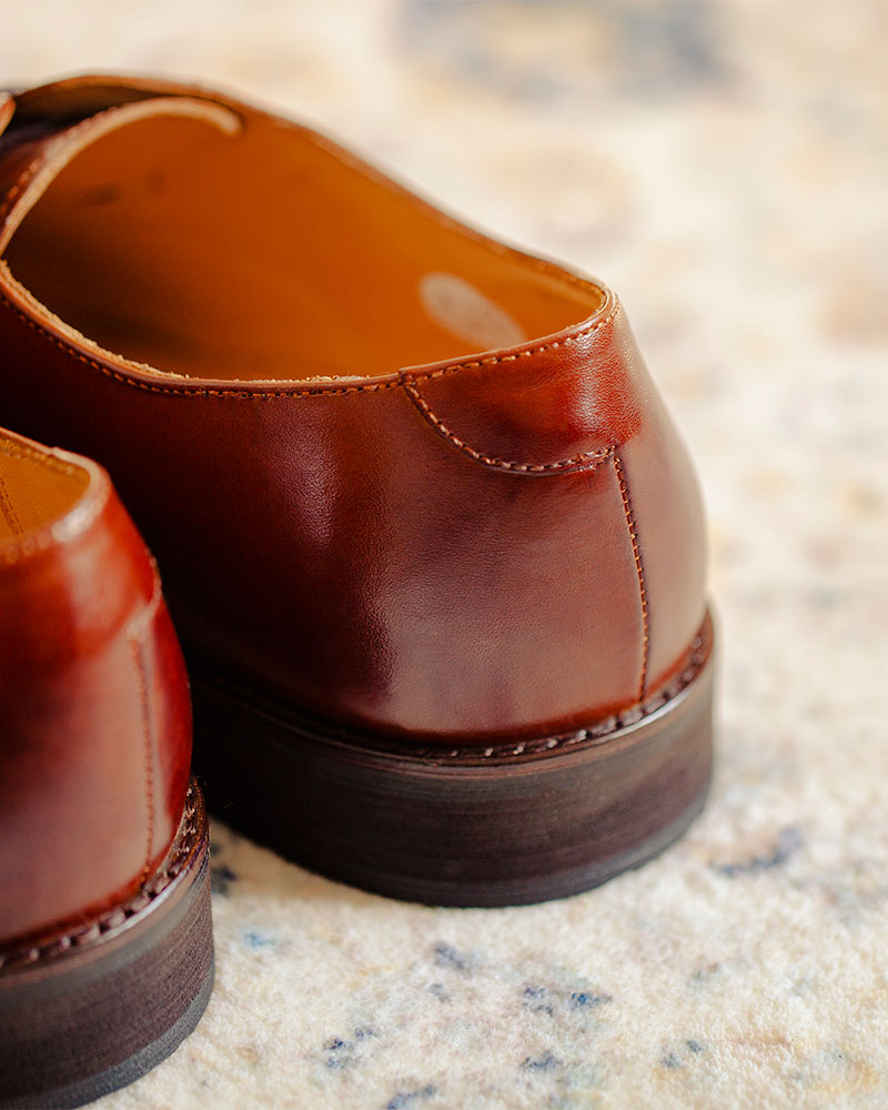 RAD by RAUDi|014 Captoe Oxford・Brown