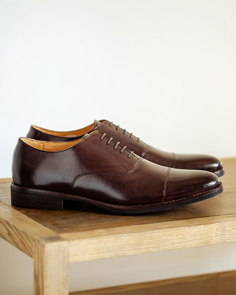 RAD by RAUDi|014 Captoe Oxford・Mocha