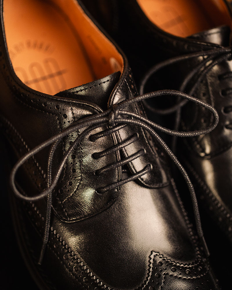 RAD by RAUDi|021 Wingtip Derby Shoes · Black