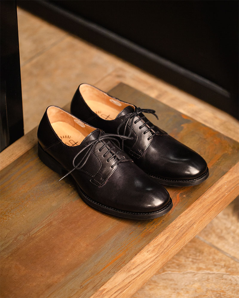 RAD by RAUDi|022 Plain Toe Derby・Black